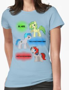 The Elements of Music Womens Fitted T-Shirt