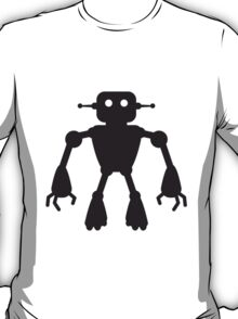 Robot Man Design T-Shirt