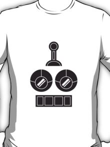 Robot Face Design T-Shirt