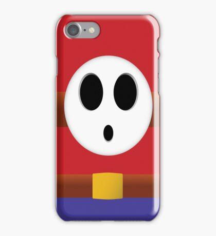 Shy Guy Feeling Shy iPhone Case/Skin
