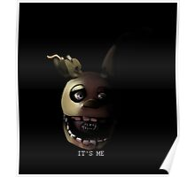Springtrap's message Poster