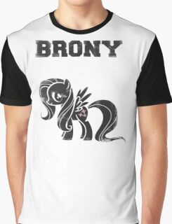 Brony- Fluttershy Graphic T-Shirt