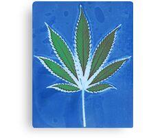 Hemp Lumen #8 Leaf Marijuana/Cannabis/Weed Canvas Print