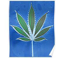 Hemp Lumen #8 Leaf Marijuana/Cannabis/Weed Poster