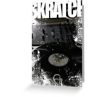 Skratch 1 Greeting Card