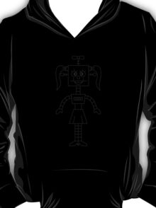 Funny Robot Girl T-Shirt