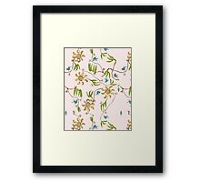 wallpaper suburbia Framed Print