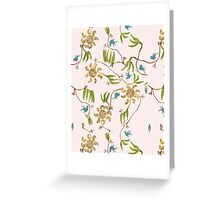 wallpaper suburbia Greeting Card