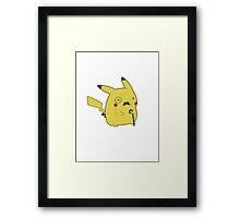 Monopoly Pikachu Framed Print