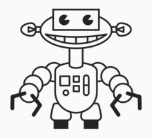 Funny Robot Boy by Style-O-Mat