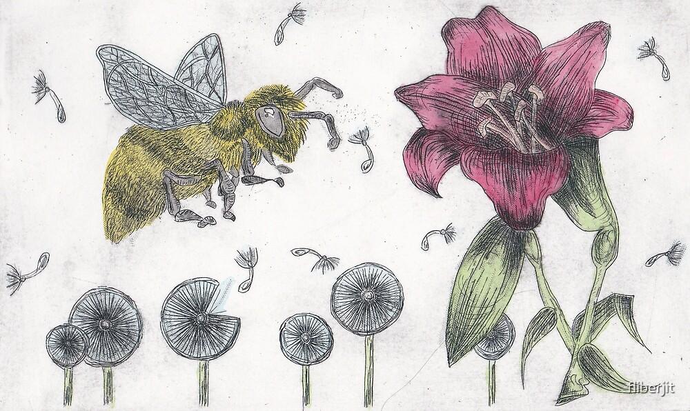 Bee Happy 3 by fliberjit
