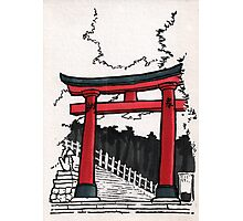 Japan : Fushimi Inari Photographic Print