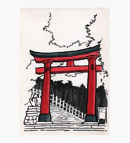 Japan : Fushimi Inari Photographic Print