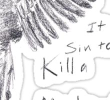 To Kill a Mockingbird - Transparent Sticker