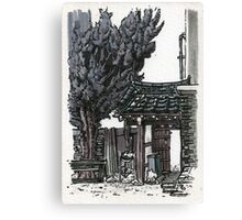 South Korea : Gyeongju Guesthouse Canvas Print
