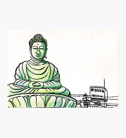 Japan : Hyogo Daibutsu Photographic Print