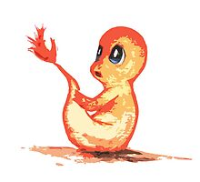 Charmander by TiaCleary