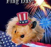 Flag Day Hamster by jkartlife