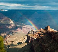Grand Canyon Rainbow by Ken Howard