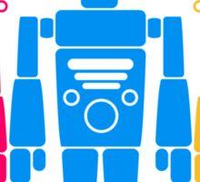 Cool Robots Team Sticker
