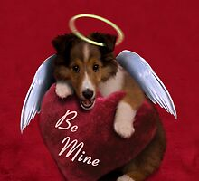 Be Mine Angel Sheltie Puppy by jkartlife