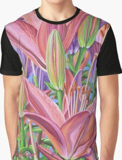 Field Of Lilies Graphic T-Shirt