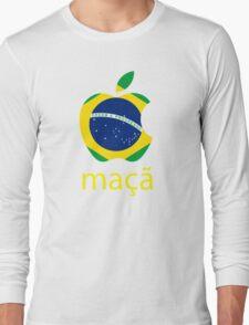 maçã Long Sleeve T-Shirt