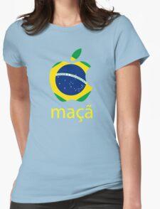 maçã Womens Fitted T-Shirt