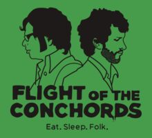 Flight Of The Conchords Eat Sleep Folk by BigTrace