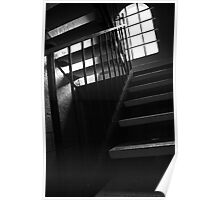 Shadowed Staircase Poster