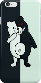Monokuma - Dangan Ronpa Phone Case by leaficia