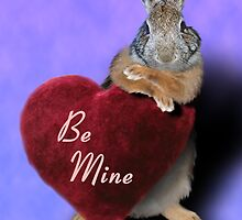 Be Mine Bunny Rabbit by jkartlife