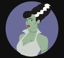 Bride of Frankenstein Pinup by ErikaAlcantara