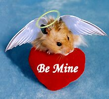 Be Mine Angel Hamster by jkartlife