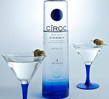 Ciroc Vodka Martini by Ken Howard