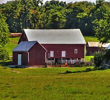 Farm In Virginia by James Brotherton