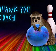 Thank You Coach Raccoon by jkartlife
