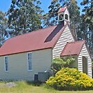 Union Church, Goulds Country, Tasmania by Graeme  Hyde