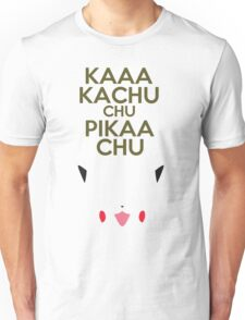 Keep Calm Pikachu Unisex T-Shirt