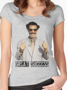 "Borat ""Great Success"" Women's Fitted Scoop T-Shirt"