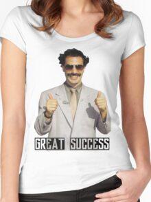 "Borat ""Great Success"" Women's Fitted Scoop T-Shirt"