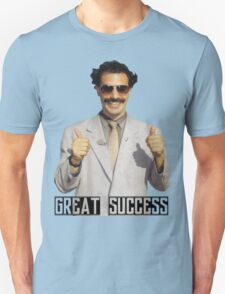 "Borat ""Great Success"" Unisex T-Shirt"