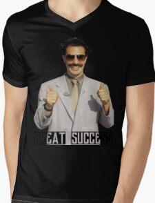 """Borat """"Great Success"""" Mens V-Neck T-Shirt"""