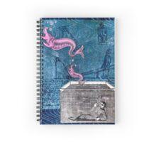 Anatomy of Imagination Spiral Notebook