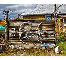 Bone Shack Photographic Print