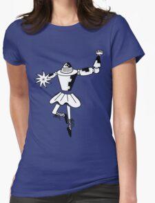 Robot dancer Womens Fitted T-Shirt