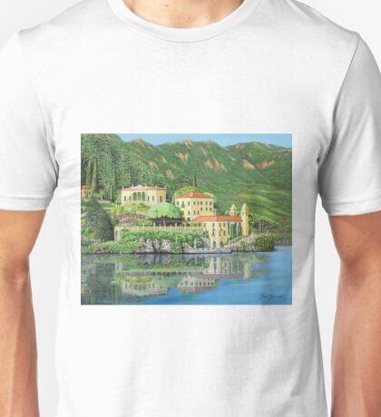 Lake Como Morning Unisex T-Shirt