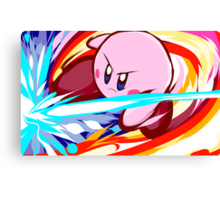 Kirby | Vulcan Kick Canvas Print