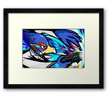 Falco | Blaster Shot Framed Print