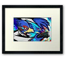 Falco   Blaster Shot Framed Print